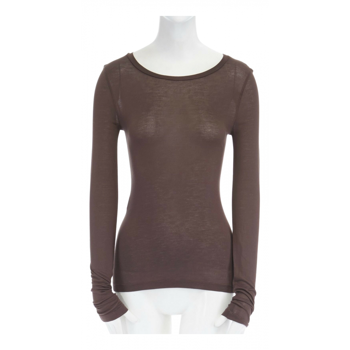 Michael Kors - Top   pour femme en coton - marron