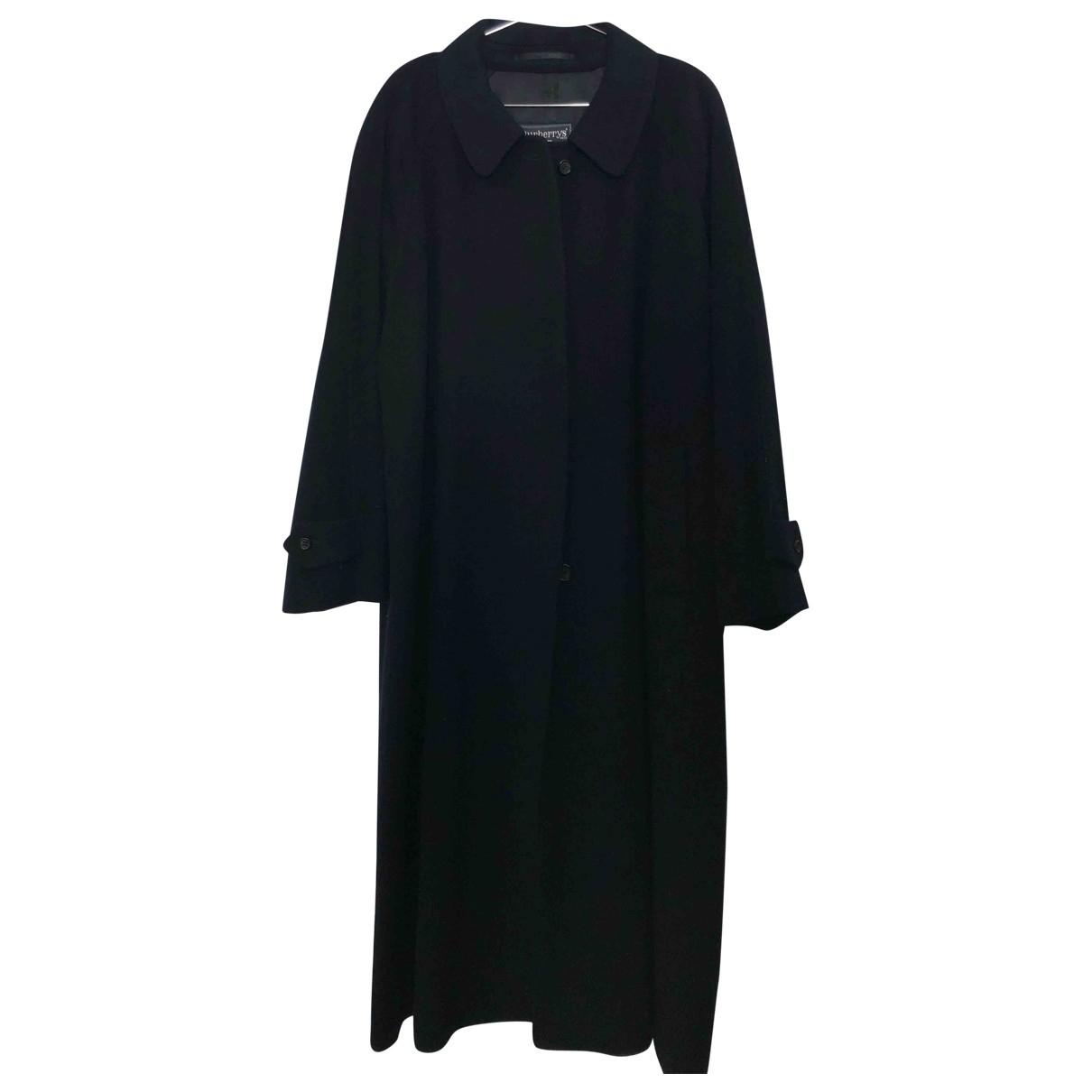 Burberry - Manteau   pour femme - bleu