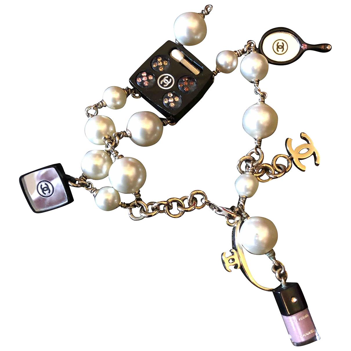 Chanel - Bracelet   pour femme - argente