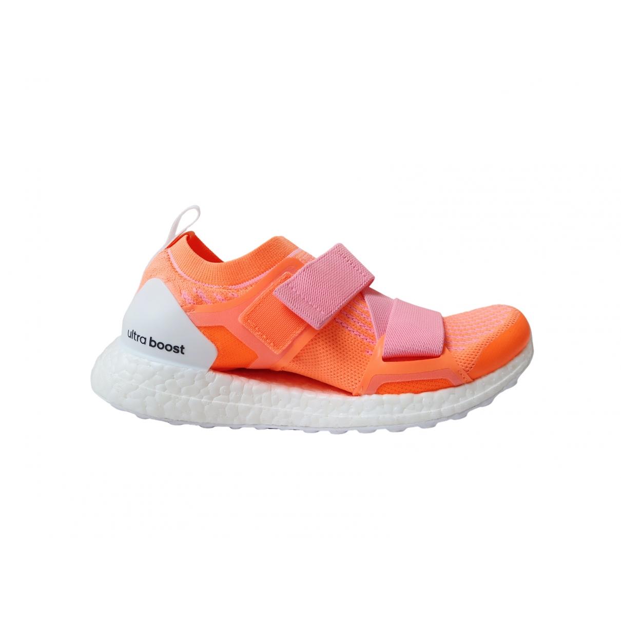 Stella Mccartney Pour Adidas \N Sneakers in  Orange Kunststoff