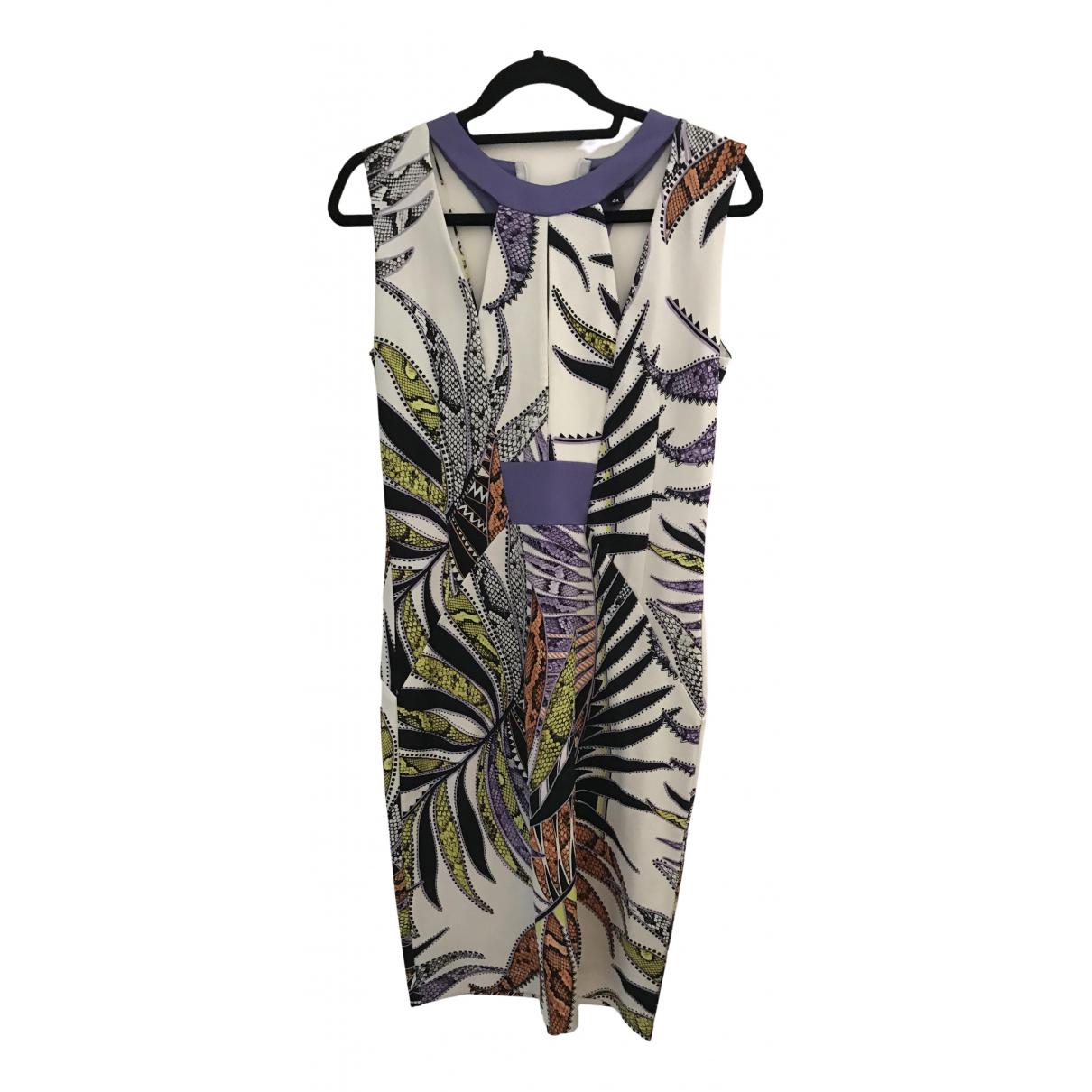 Just Cavalli \N Kleid in  Bunt Synthetik