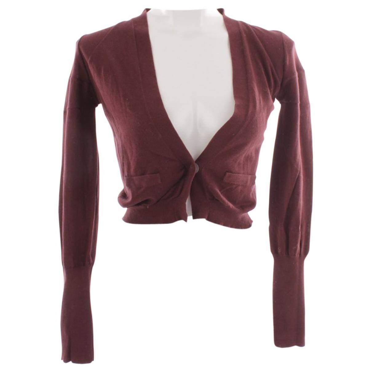 Brunello Cucinelli \N Burgundy Cotton Knitwear for Women S International