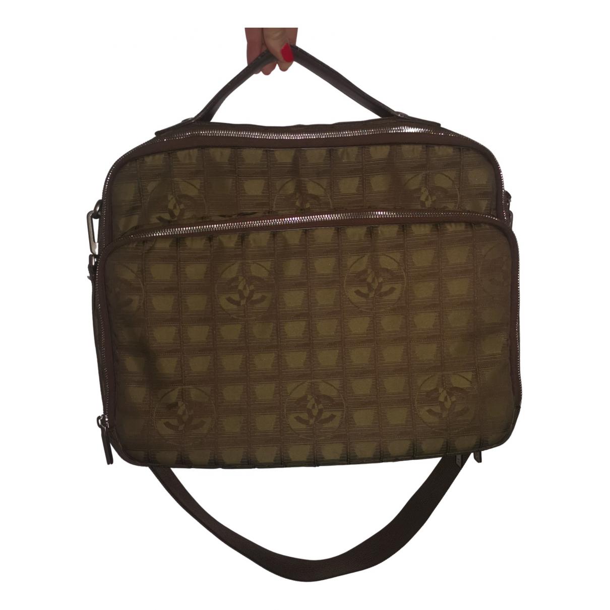 Chanel \N Handtasche in  Beige Leinen