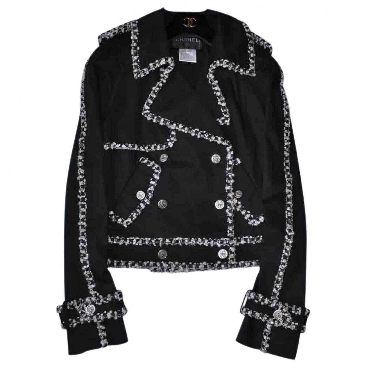 Chanel \N Black Cotton jacket for Women 38 FR