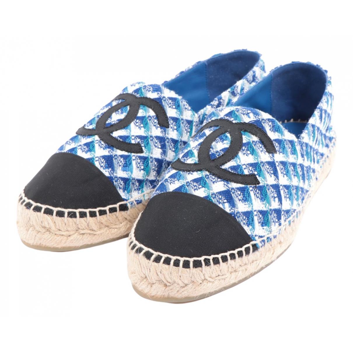 Chanel \N Blue Cloth Espadrilles for Women 39 EU