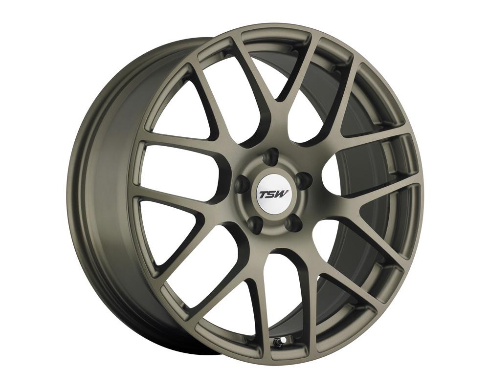 TSW Nurburgring Wheel 17x9 5x114.3 63mm Matte Bronze
