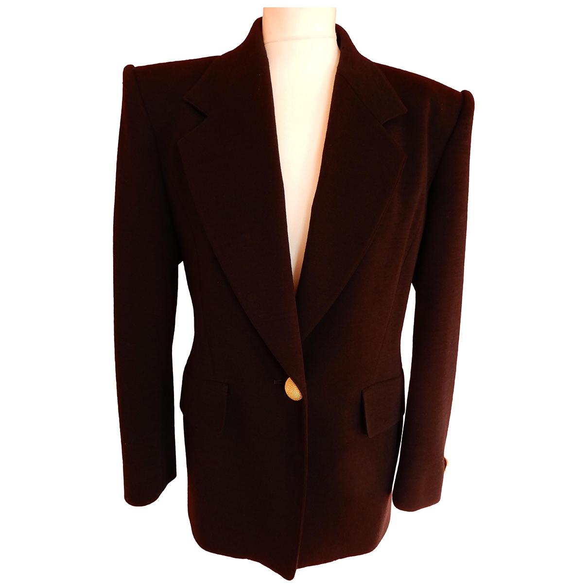 Guy Laroche - Veste   pour femme en laine - noir
