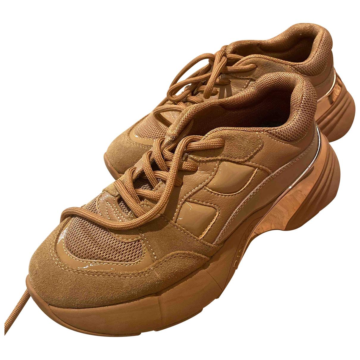 Pinko \N Sneakers in  Braun Veloursleder