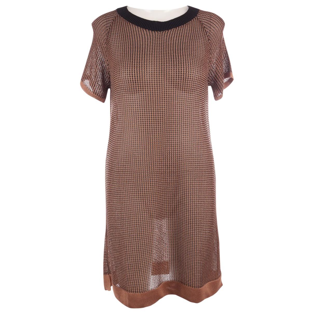 Wolford \N Kleid in  Braun Viskose