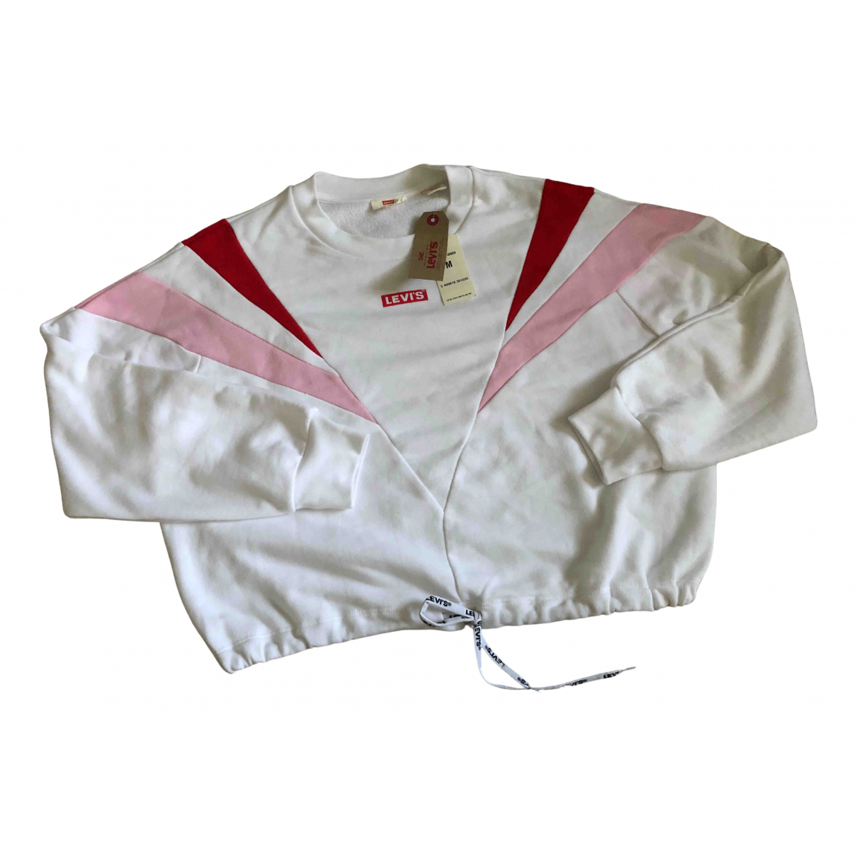 Levis - Pull   pour femme en coton - blanc