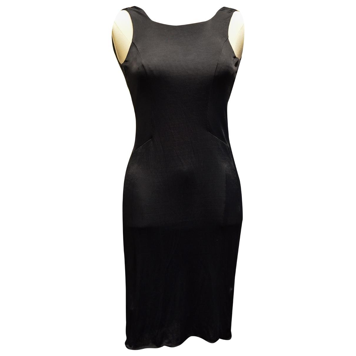 Emporio Armani \N Kleid in  Schwarz Polyester