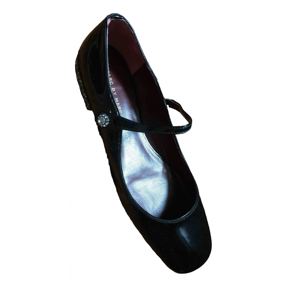 Marc By Marc Jacobs \N Black Patent leather Ballet flats for Women 36 EU