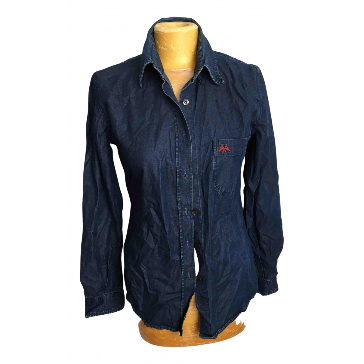 Burberry N Blue Cotton  top for Women 38 FR