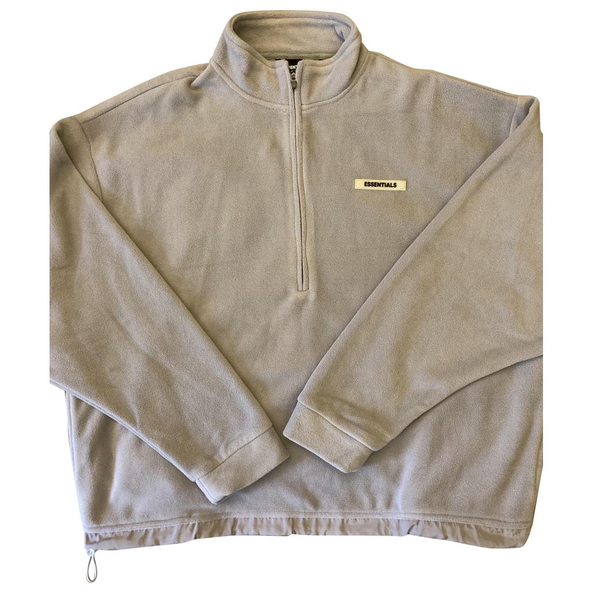 Fear Of God \N Pullover.Westen.Sweatshirts  in  Grau Synthetik
