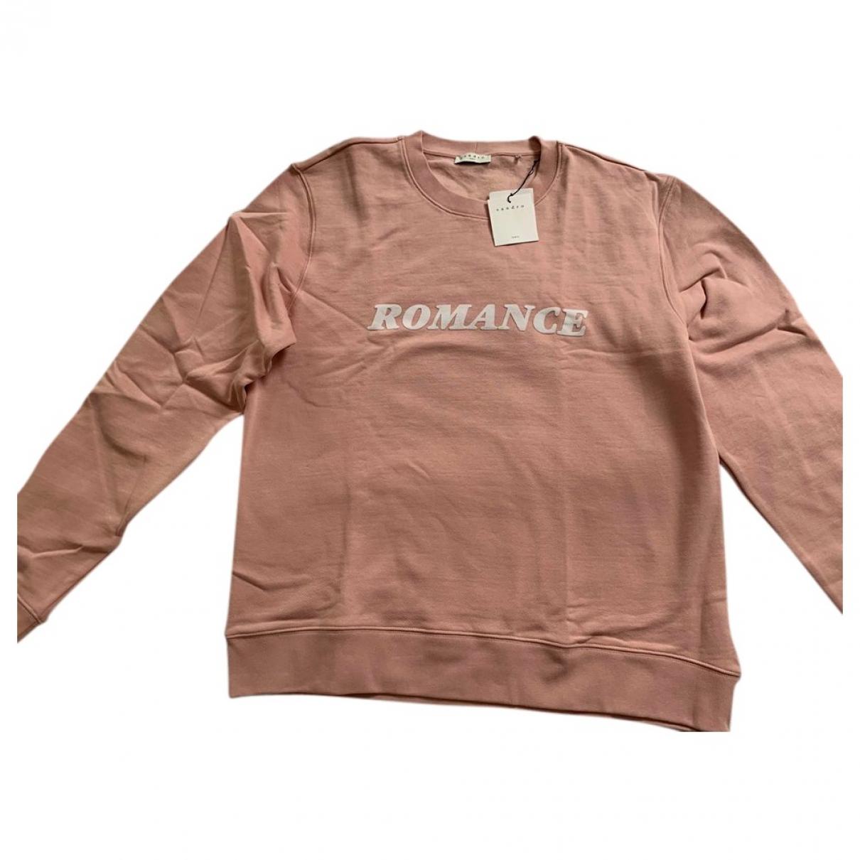 Sandro \N Pink Cotton Knitwear & Sweatshirts for Men XXL