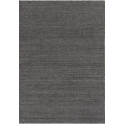 Costine CSE-1003 8' x 10' Rectangle Modern Rug in Charcoal