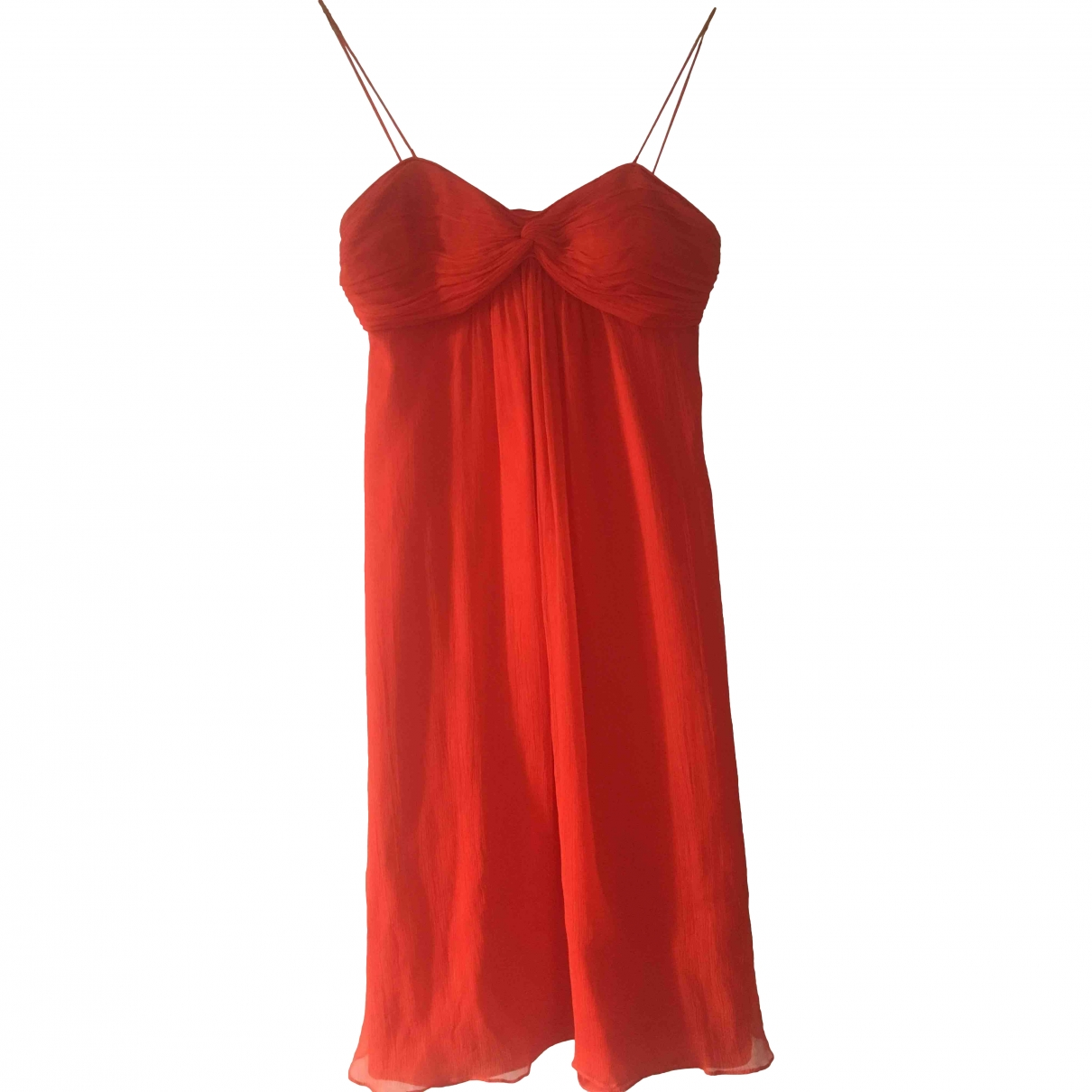Zapa \N Orange Silk dress for Women 36 FR