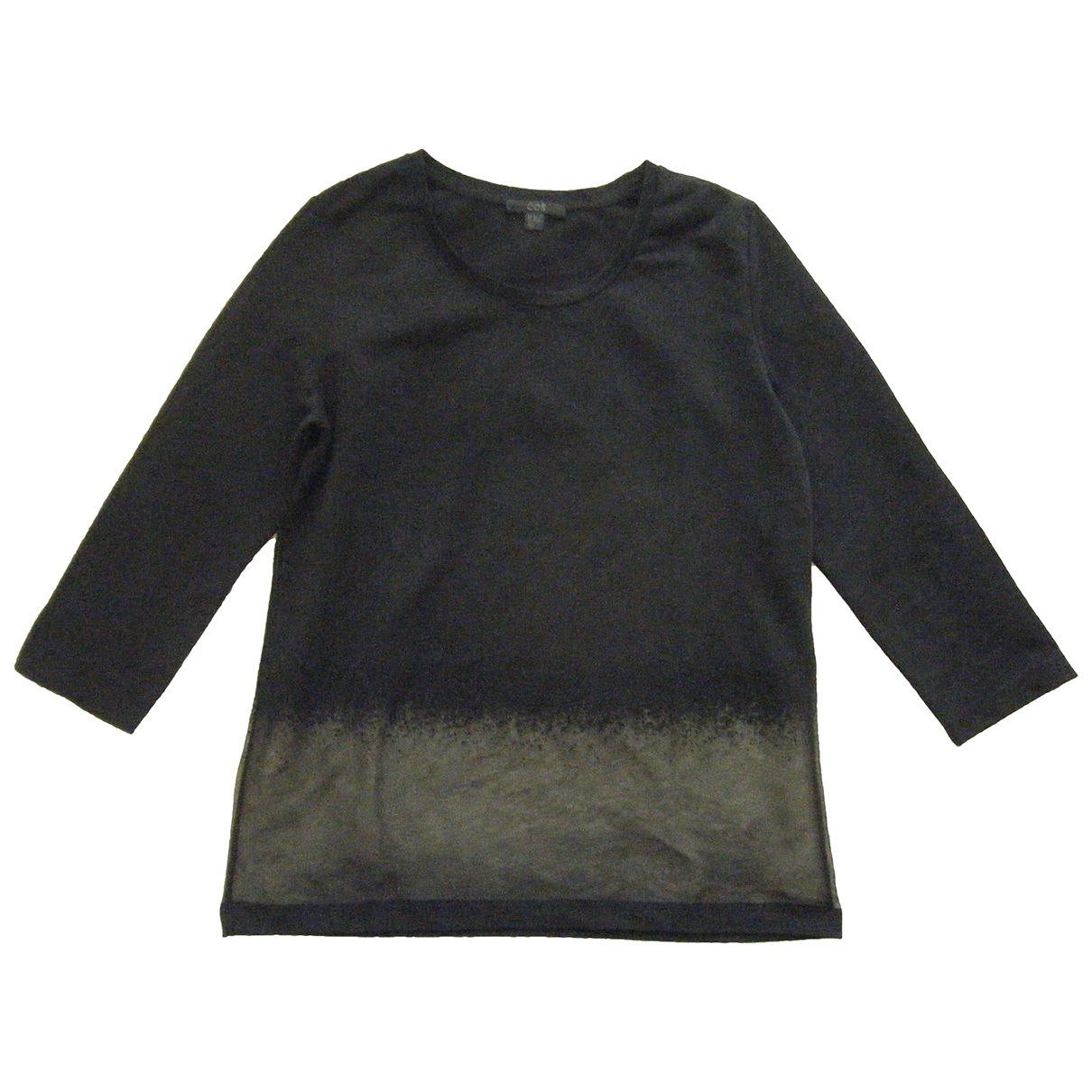 Cos \N Black Cotton  top for Women 36 FR