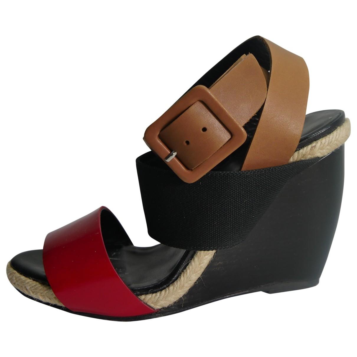 Pierre Hardy \N Multicolour Leather Sandals for Women 36 EU