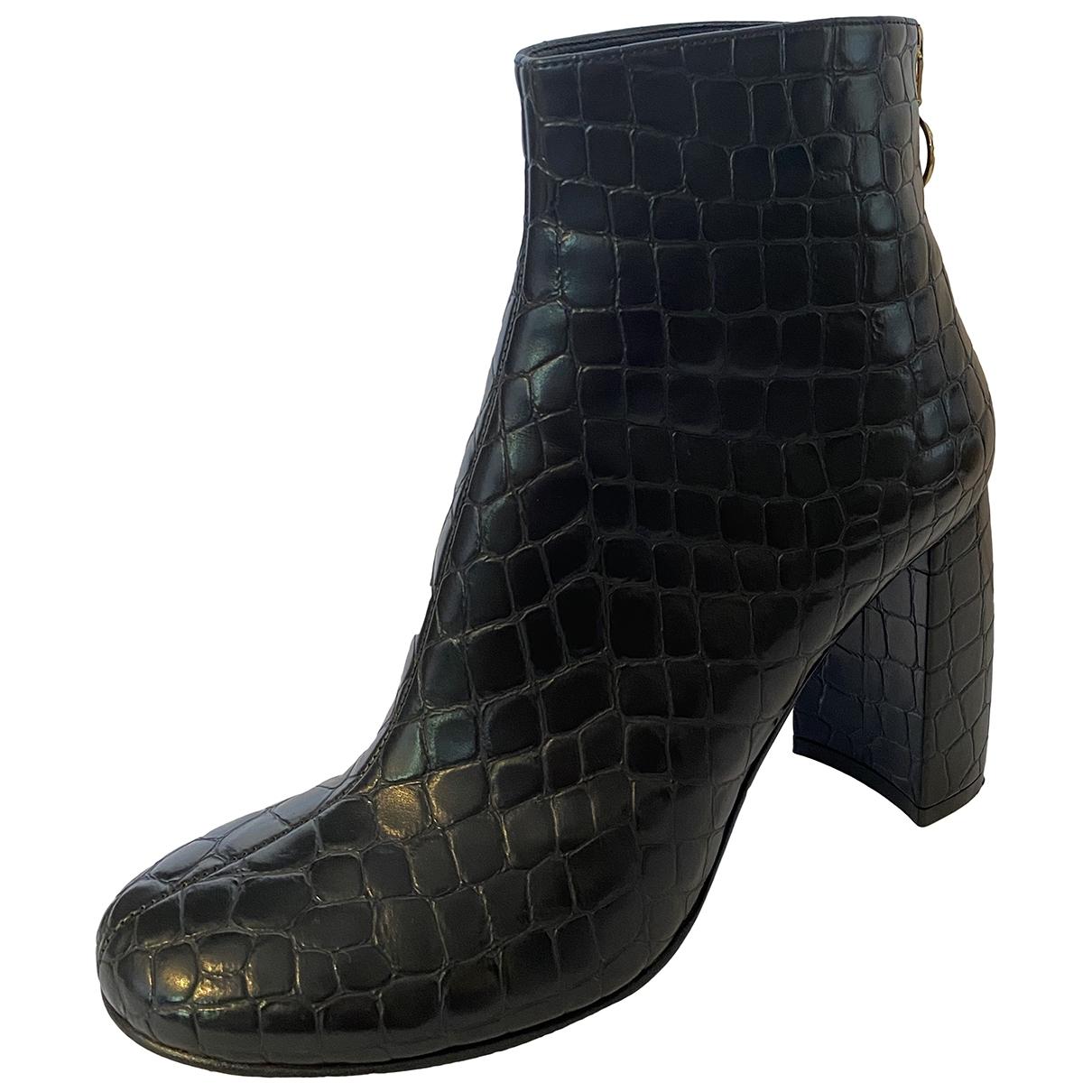 Stella Mccartney - Boots   pour femme en toile - noir