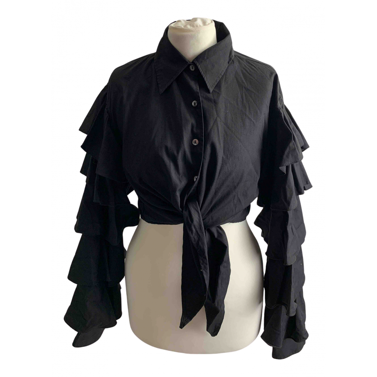 Jean Paul Gaultier N Black Cotton  top for Women 42 IT