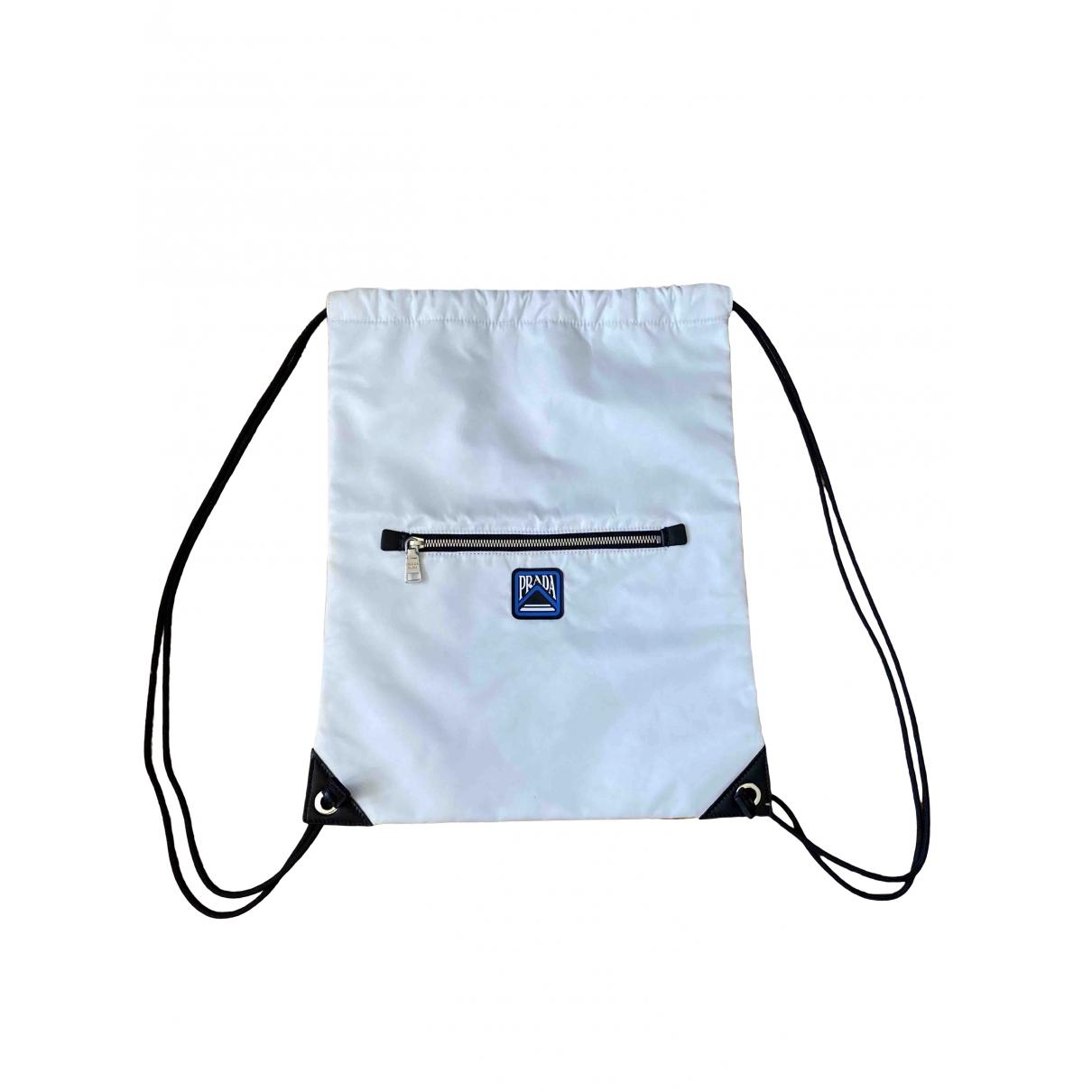 Prada \N White bag for Men \N