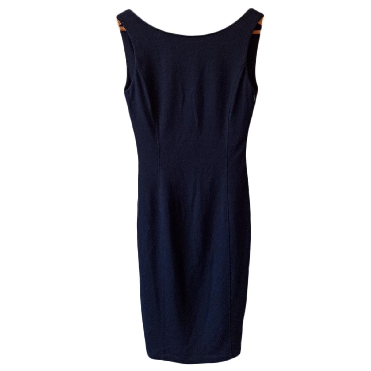 Flavio Castellani \N Kleid in  Blau Wolle