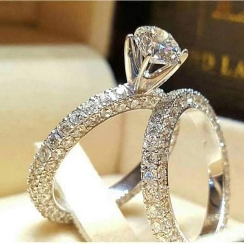 Ericdress Rhinestone Diamante Shining Ring
