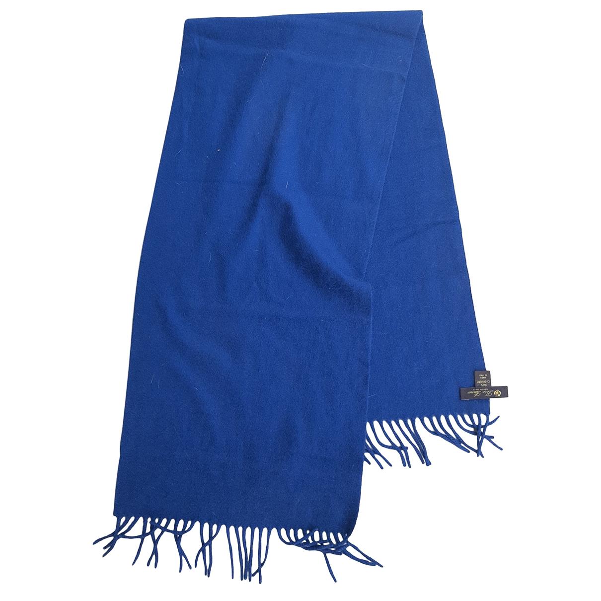 Loro Piana \N Blue Cashmere scarf & pocket squares for Men \N