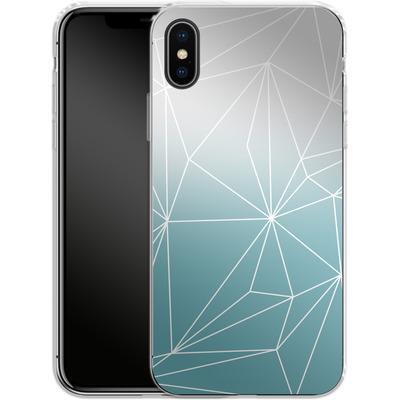 Apple iPhone X Silikon Handyhuelle - Simplicity 2 von Mareike Bohmer