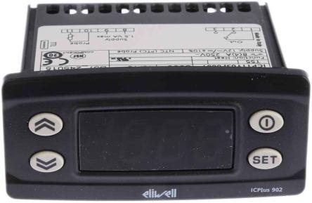 Eliwell ICPlus On/Off Temperature Controller, 74 x 32mm, NTC, PTC Input, 12 V Supply