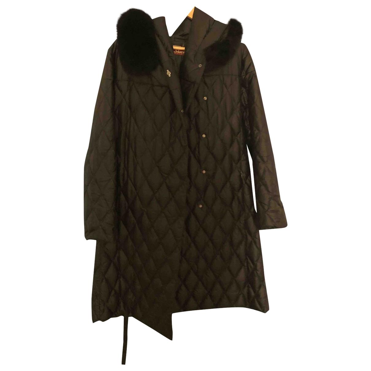 Max Mara Studio \N Black coat for Women 46 IT