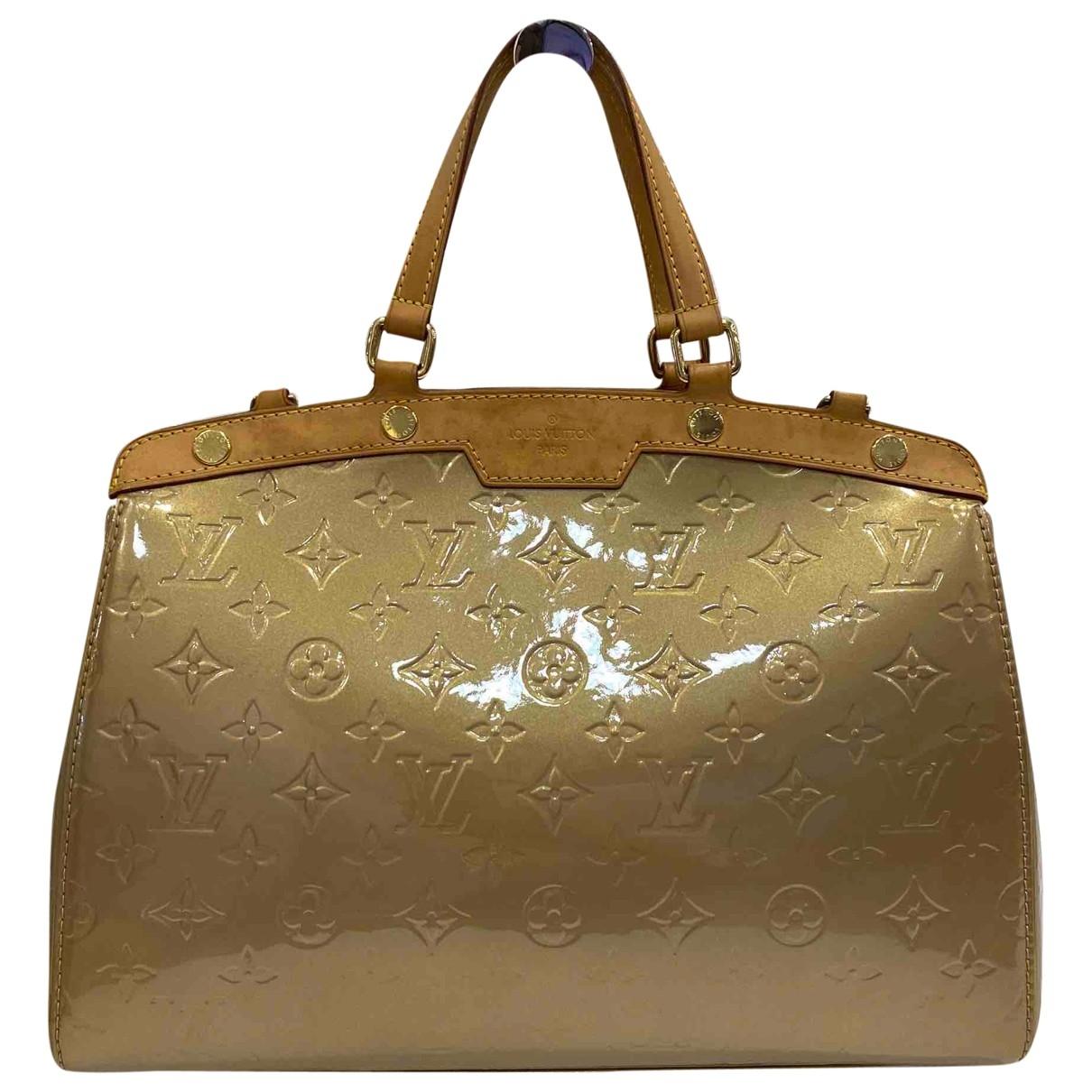 Louis Vuitton - Sac a main Brea pour femme en cuir verni