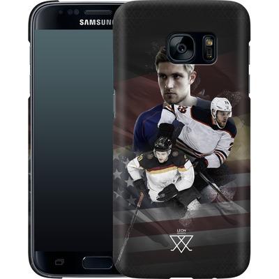 Samsung Galaxy S7 Smartphone Huelle - Leon Draisaitl America von Leon Draisaitl