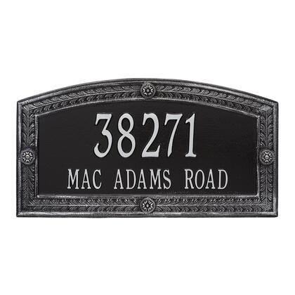 1877BS Personalized Hamilton Plaque - Estate - Wall - 2 line in