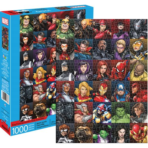 Marvel Heroes Collage 1,000-Piece Puzzle