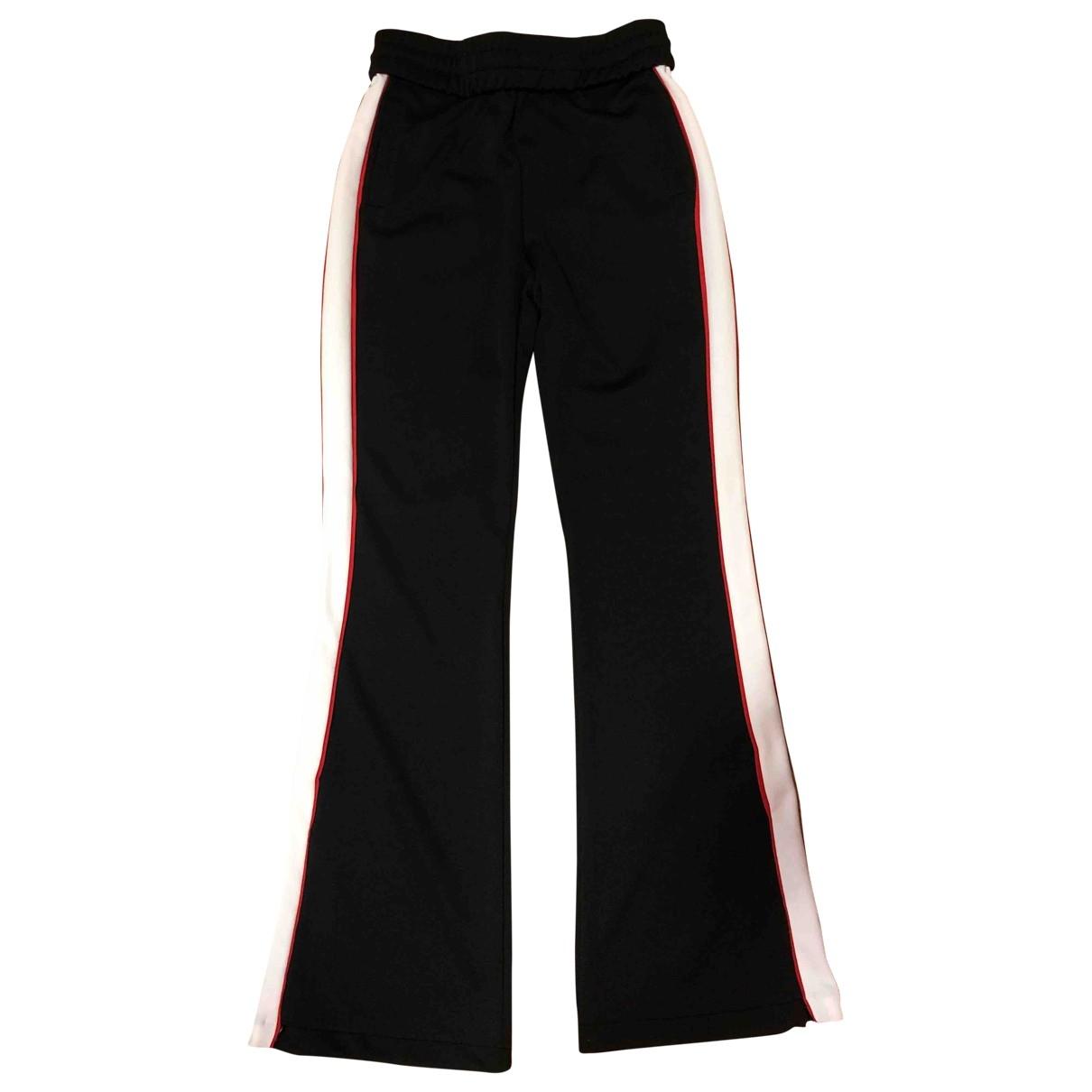 Off-white \N Black Trousers for Women S International