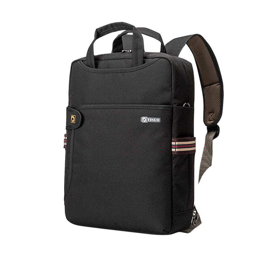 Simple and Casual Multi-function Nylon Waterproof Backpack