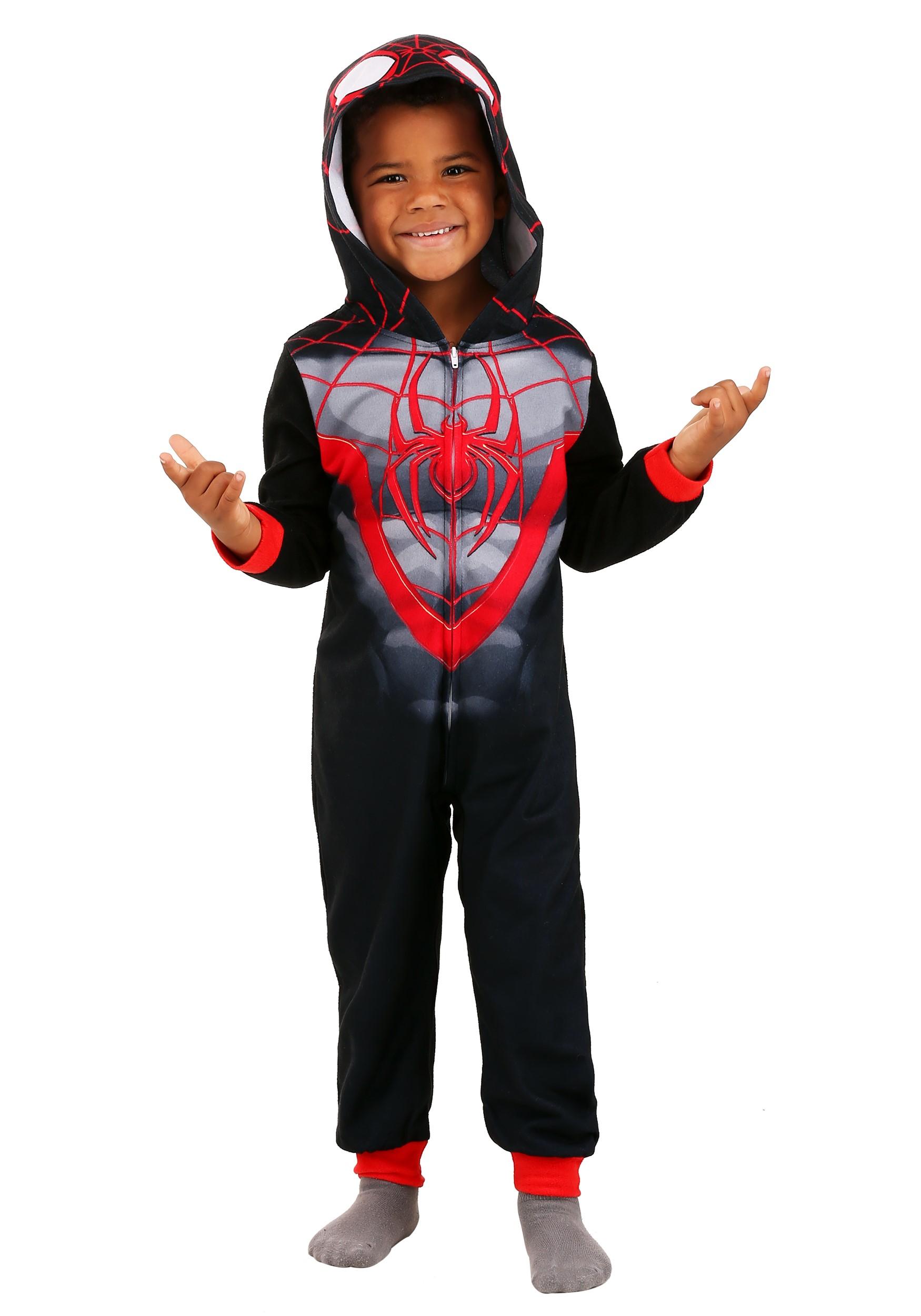 Kids Spider-Man Miles Morales Blanket Sleeper