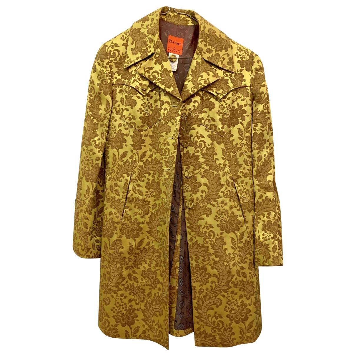 Christian Lacroix \N Yellow coat for Women 36 FR