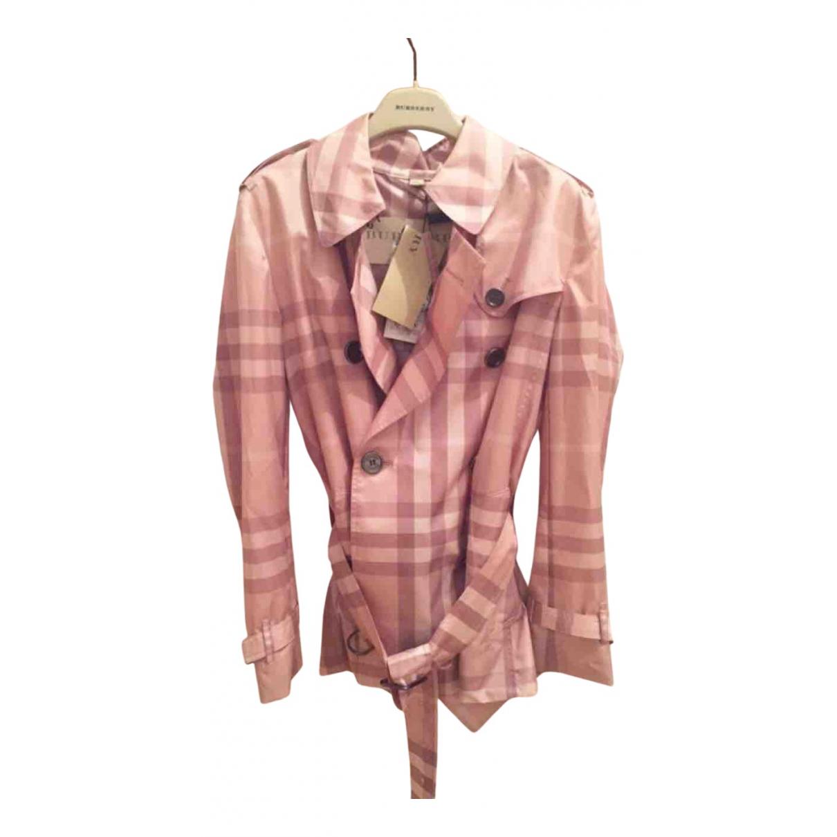 Burberry N Pink coat for Women 36 IT