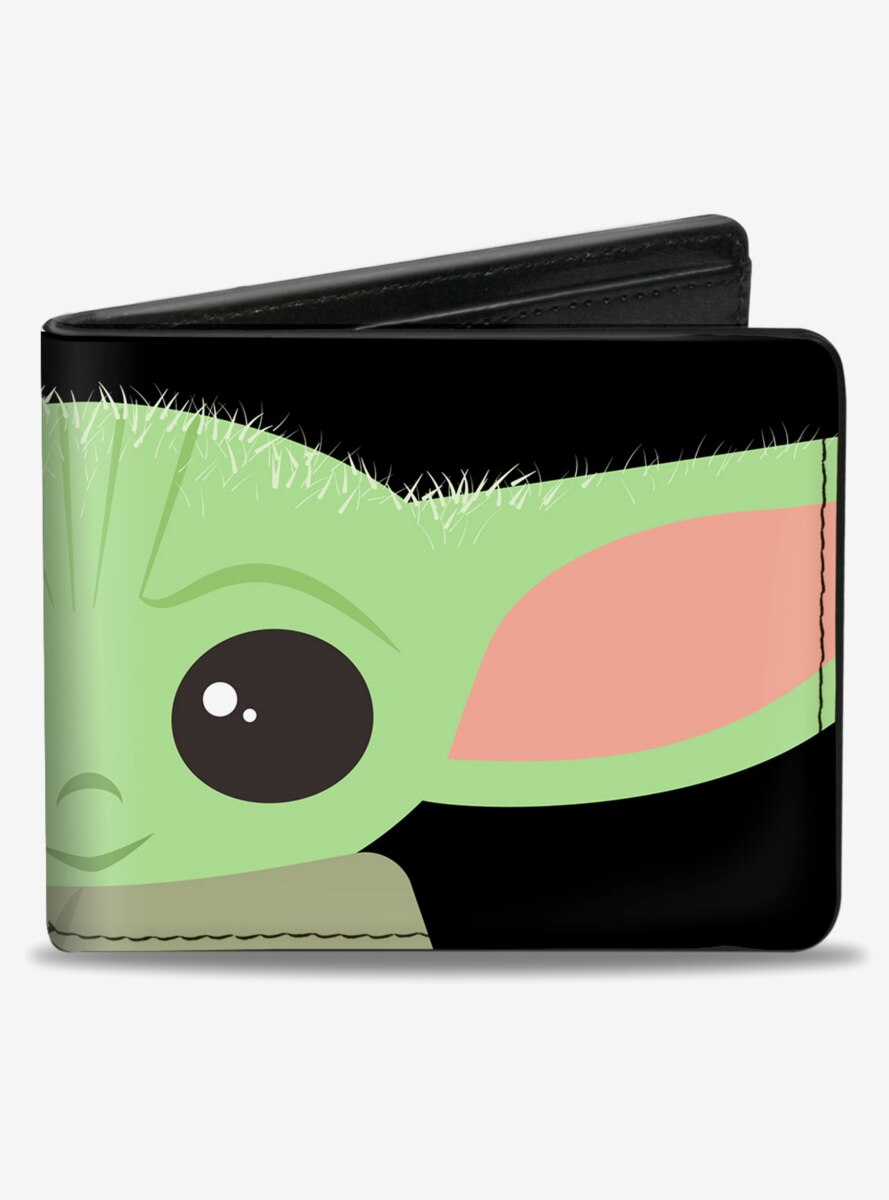 Star Wars The Mandalorian The Child Face Bifold Wallet