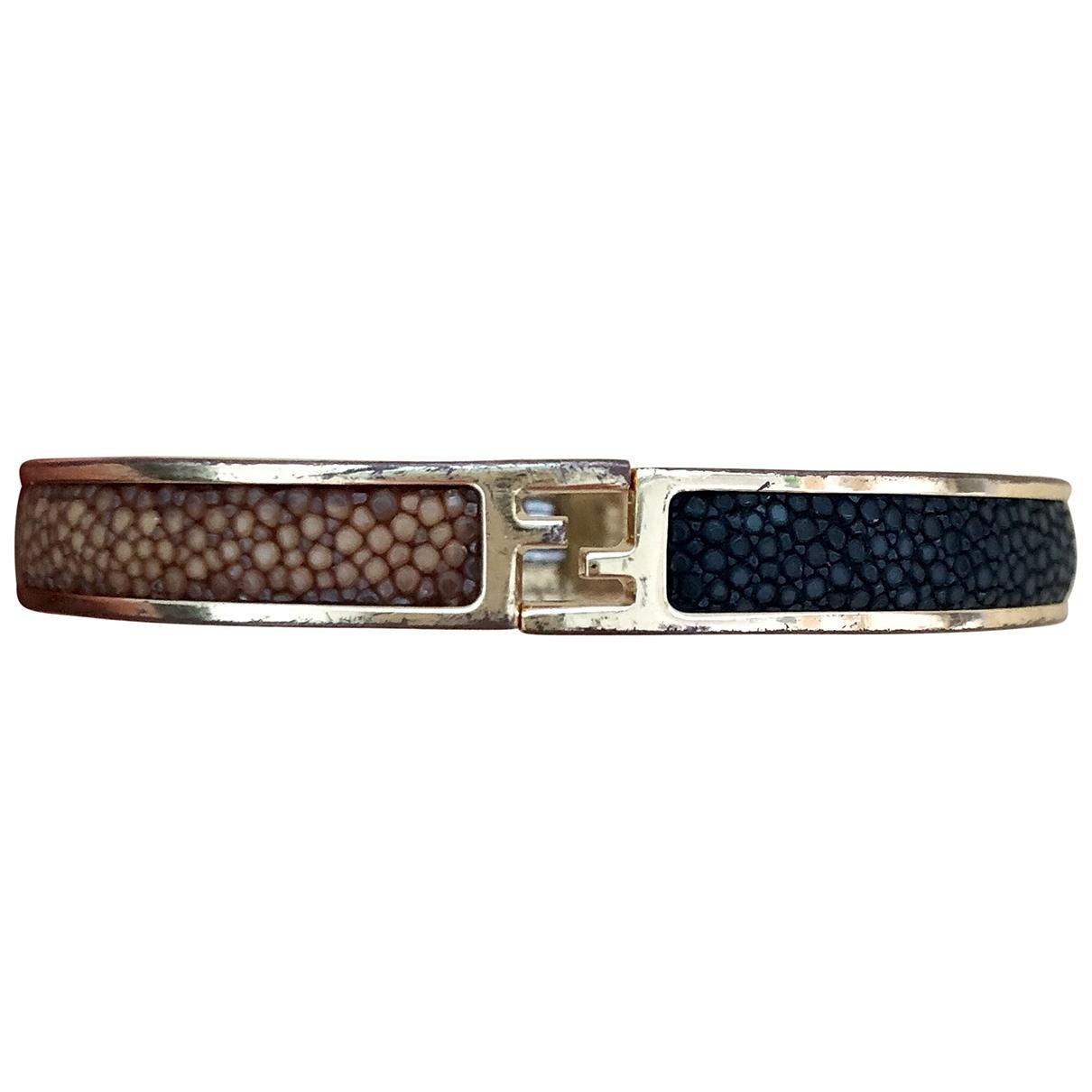 Fendi - Bracelet The Fendista pour femme en plaque or - multicolore