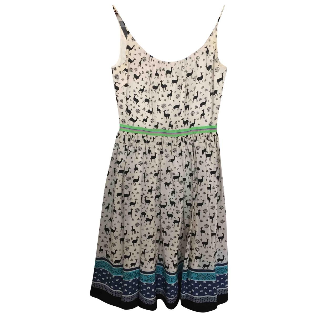 Vestido de Seda Anna Sui