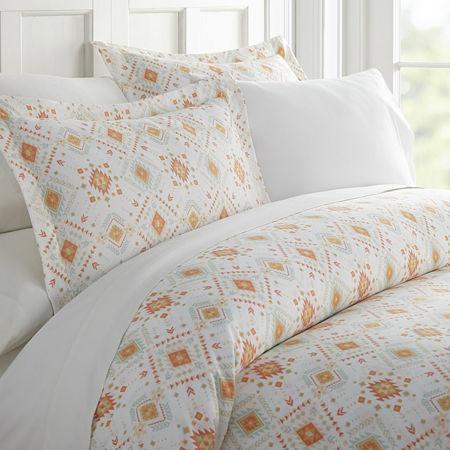 Casual Comfort Premium Ultra Soft Aztec Dreams Duvet Cover Set, One Size , Pink