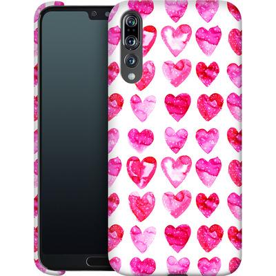 Huawei P20 Pro Smartphone Huelle - Heart Speckle von Amy Sia