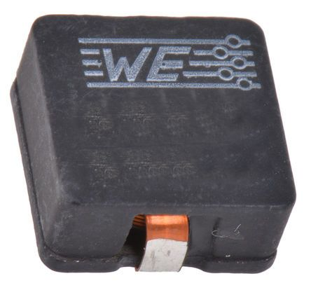 Wurth Elektronik Wurth, WE-HCI, 7040 Shielded Wire-wound SMD Inductor with a WE-Superflux Core, 2.2 μH ±20% Flat Wire Winding 9A Idc
