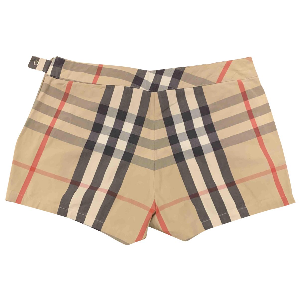 Burberry - Short   pour enfant en coton - multicolore