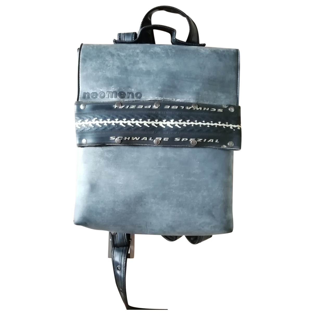 Non Signé / Unsigned \N Grey backpack for Women \N