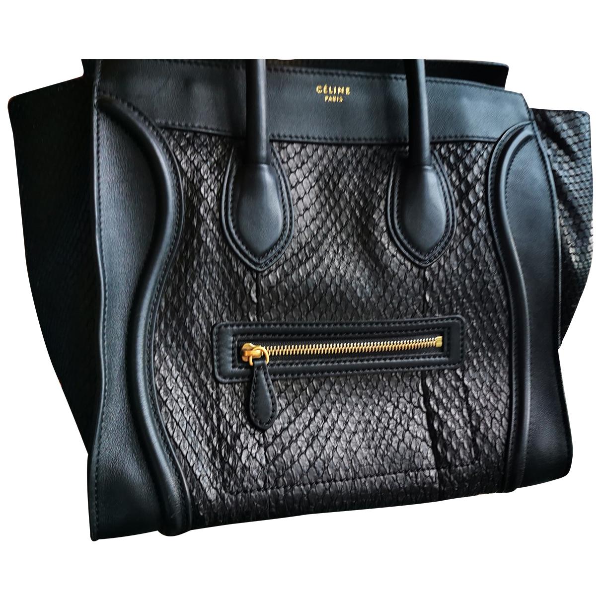 Bolso  Luggage de Piton Celine